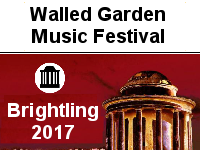Brightling Walled Garden Festival 14th - 16th July 2017